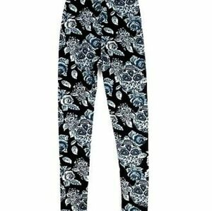 JUST COZY faux fur thick winter lined legging XL